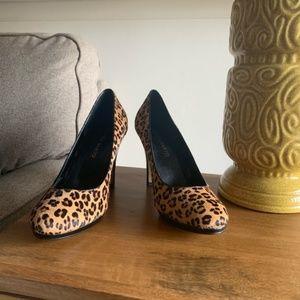 FRANCO SARTO NAPOLI Calf Hair LEOPARD Heels 9.5 😍